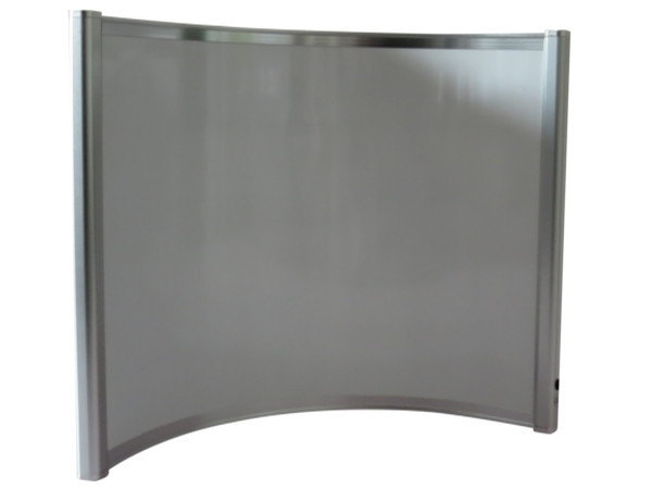 Aluminium Curved Panel Heater R (400W)
